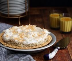 Chai Coconut Cream Pie
